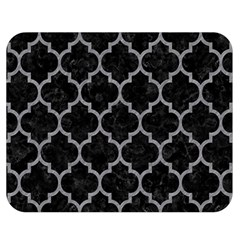 Tile1 Black Marble & Gray Colored Pencil Double Sided Flano Blanket (medium)  by trendistuff