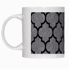 Tile1 Black Marble & Gray Colored Pencil (r) White Mugs by trendistuff