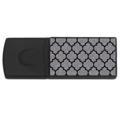Tile1 Black Marble & Gray Colored Pencil (r) Rectangular Usb Flash Drive by trendistuff