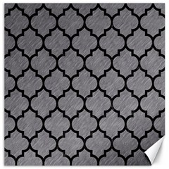 Tile1 Black Marble & Gray Colored Pencil (r) Canvas 20  X 20   by trendistuff
