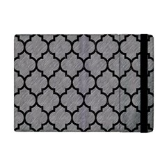 Tile1 Black Marble & Gray Colored Pencil (r) Apple Ipad Mini Flip Case