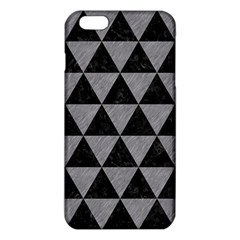 Triangle3 Black Marble & Gray Colored Pencil Iphone 6 Plus/6s Plus Tpu Case by trendistuff