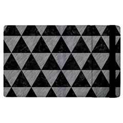 Triangle3 Black Marble & Gray Colored Pencil Apple Ipad Pro 12 9   Flip Case by trendistuff