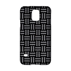 Woven1 Black Marble & Gray Colored Pencil Samsung Galaxy S5 Hardshell Case  by trendistuff