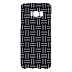 Woven1 Black Marble & Gray Colored Pencil Samsung Galaxy S8 Plus Hardshell Case  by trendistuff