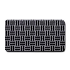 Woven1 Black Marble & Gray Colored Pencil (r) Medium Bar Mats by trendistuff