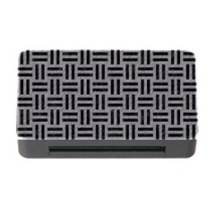Woven1 Black Marble & Gray Colored Pencil (r) Memory Card Reader With Cf by trendistuff