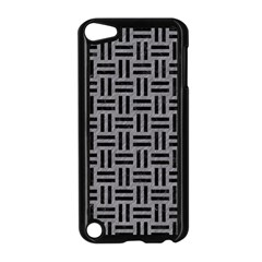 Woven1 Black Marble & Gray Colored Pencil (r) Apple Ipod Touch 5 Case (black) by trendistuff