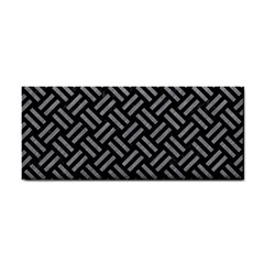 Woven2 Black Marble & Gray Colored Pencil Cosmetic Storage Cases by trendistuff