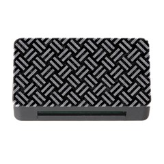 Woven2 Black Marble & Gray Colored Pencil Memory Card Reader With Cf by trendistuff