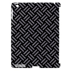 Woven2 Black Marble & Gray Colored Pencil Apple Ipad 3/4 Hardshell Case (compatible With Smart Cover) by trendistuff