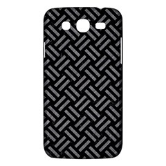 Woven2 Black Marble & Gray Colored Pencil Samsung Galaxy Mega 5 8 I9152 Hardshell Case  by trendistuff