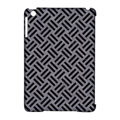 Woven2 Black Marble & Gray Colored Pencil (r) Apple Ipad Mini Hardshell Case (compatible With Smart Cover) by trendistuff