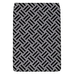 Woven2 Black Marble & Gray Colored Pencil (r) Flap Covers (s)  by trendistuff