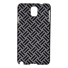 Woven2 Black Marble & Gray Colored Pencil (r) Samsung Galaxy Note 3 N9005 Hardshell Case by trendistuff