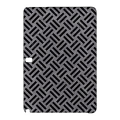 Woven2 Black Marble & Gray Colored Pencil (r) Samsung Galaxy Tab Pro 12 2 Hardshell Case by trendistuff
