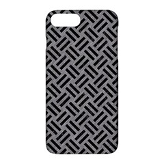 Woven2 Black Marble & Gray Colored Pencil (r) Apple Iphone 7 Plus Hardshell Case