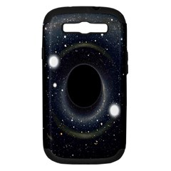 Brightest Cluster Galaxies And Supermassive Black Holes Samsung Galaxy S Iii Hardshell Case (pc+silicone)