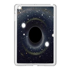 Brightest Cluster Galaxies And Supermassive Black Holes Apple Ipad Mini Case (white) by Mariart