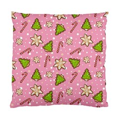 Ginger Cookies Christmas Pattern Standard Cushion Case (two Sides) by Valentinaart