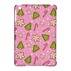 Ginger Cookies Christmas Pattern Apple Ipad Mini Hardshell Case (compatible With Smart Cover) by Valentinaart