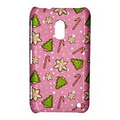 Ginger Cookies Christmas Pattern Nokia Lumia 620 by Valentinaart