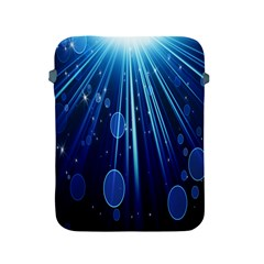Blue Rays Light Stars Space Apple Ipad 2/3/4 Protective Soft Cases by Mariart