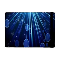 Blue Rays Light Stars Space Ipad Mini 2 Flip Cases by Mariart