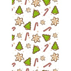 Ginger Cookies Christmas Pattern 5 5  X 8 5  Notebooks by Valentinaart