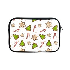 Ginger Cookies Christmas Pattern Apple Ipad Mini Zipper Cases by Valentinaart