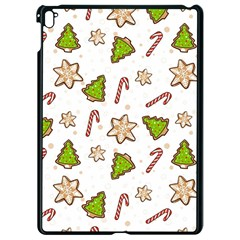 Ginger Cookies Christmas Pattern Apple Ipad Pro 9 7   Black Seamless Case by Valentinaart