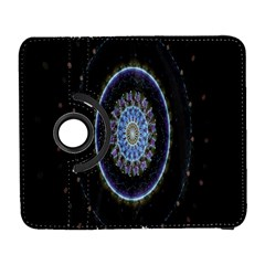 Colorful Hypnotic Circular Rings Space Galaxy S3 (flip/folio) by Mariart
