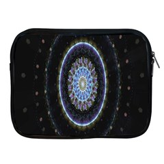 Colorful Hypnotic Circular Rings Space Apple Ipad 2/3/4 Zipper Cases by Mariart