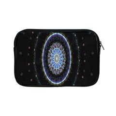 Colorful Hypnotic Circular Rings Space Apple Ipad Mini Zipper Cases by Mariart