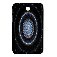 Colorful Hypnotic Circular Rings Space Samsung Galaxy Tab 3 (7 ) P3200 Hardshell Case