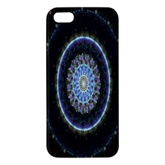 Colorful Hypnotic Circular Rings Space Iphone 5s/ Se Premium Hardshell Case by Mariart