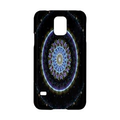 Colorful Hypnotic Circular Rings Space Samsung Galaxy S5 Hardshell Case  by Mariart