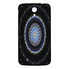 Colorful Hypnotic Circular Rings Space Samsung Galaxy Mega I9200 Hardshell Back Case