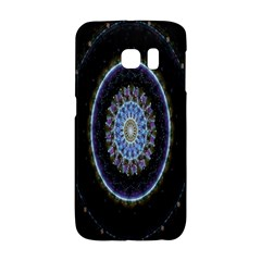 Colorful Hypnotic Circular Rings Space Galaxy S6 Edge by Mariart