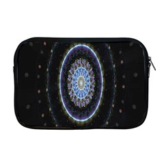 Colorful Hypnotic Circular Rings Space Apple Macbook Pro 17  Zipper Case by Mariart