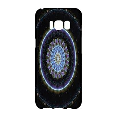 Colorful Hypnotic Circular Rings Space Samsung Galaxy S8 Hardshell Case  by Mariart