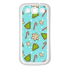 Ginger Cookies Christmas Pattern Samsung Galaxy S3 Back Case (white)