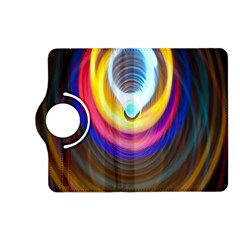 Colorful Glow Hole Space Rainbow Kindle Fire Hd (2013) Flip 360 Case by Mariart