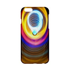 Colorful Glow Hole Space Rainbow Apple Iphone 6/6s Hardshell Case by Mariart