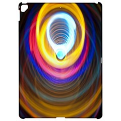 Colorful Glow Hole Space Rainbow Apple Ipad Pro 12 9   Hardshell Case by Mariart
