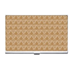 Cake Brown Sweet Business Card Holders by Mariart