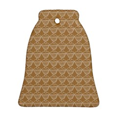 Cake Brown Sweet Bell Ornament (two Sides) by Mariart