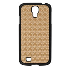 Cake Brown Sweet Samsung Galaxy S4 I9500/ I9505 Case (black) by Mariart