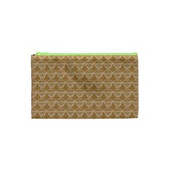 Cake Brown Sweet Cosmetic Bag (xs) by Mariart