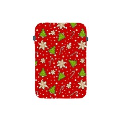 Ginger Cookies Christmas Pattern Apple Ipad Mini Protective Soft Cases by Valentinaart